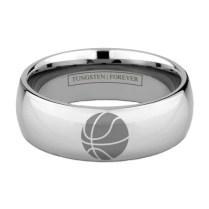 Custom Tungsten Basketball Ring