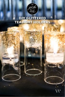 Diy Wedding Decor Ideas A Touch Of {art Deco} Gold
