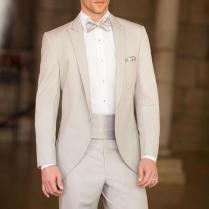 Generous Beige Mens Tailcoat Mens Suits Wedding Suits For Men
