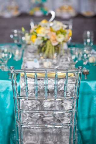 Gray And Turquoise Wedding