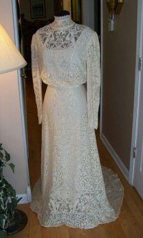 Gunny Sack Wedding Dress