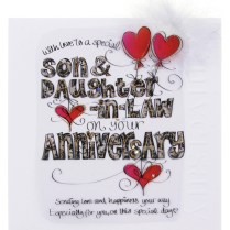 Happy Anniversary For Son And Daughter In Law