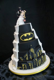 His And Hers Wedding Cake Ideas