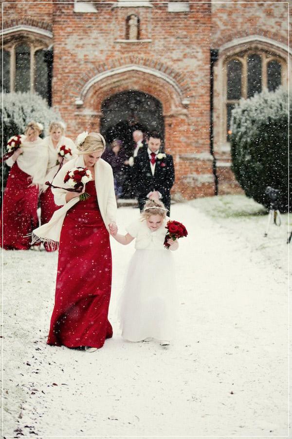 61f8981caa6 Winter Wedding Colors For Bridesmaids Dress
