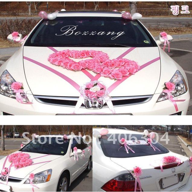 How To Decorate Wedding Car