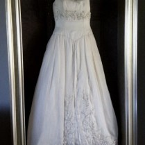 I'd Love To Frame My Wedding Dress In A Display Case Shadow Box