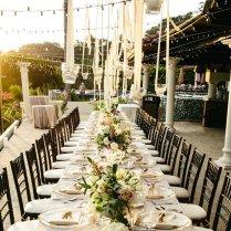 Ideas For Outdoor Wedding Reception Tables