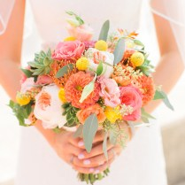 Images Of Coral Wedding Flowers