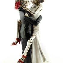 Incredible Day Of The Dead Wedding Cake Toppers