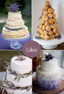Lavender Wedding Ideas, Decor, Cakes & Favours