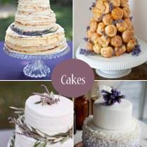 Lavender Wedding Ideas, Decor, Cakes & Favours