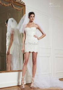 Mini Wedding Dresses 2014