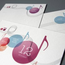 Music Themed Wedding Invitation Set Printable Diy Suite