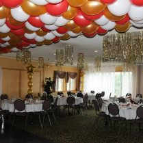 Non Balloon Ceiling Decorations For Wedding