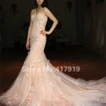 Online Buy Wholesale Champagne Colored Mermaid Wedding Dresses