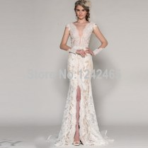Online Buy Wholesale Front Slit Wedding Dress From China Front