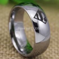 Online Buy Wholesale Superman Tungsten Ring From China Superman