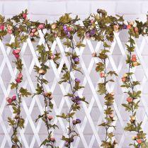 Online Get Cheap Hanging Flower Garland