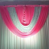 Popular Hot Pink Backdrop For Wedding