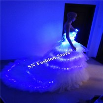 Popular Led Wedding Dress