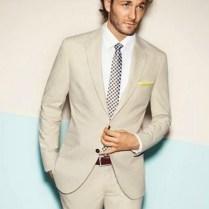 Popular Mens Beige Suits