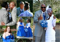 Royal Blue Wedding Bridal Party