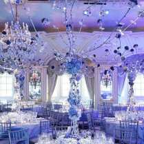 Shades Of Blue Wedding Centerpiece Ideas