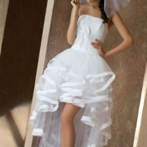 Short Mini Wedding Dresses