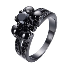 Skull Wedding Rings For Men Photo Album