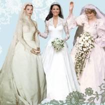 Something Old, Something New The Best Royal Wedding Dresses Of