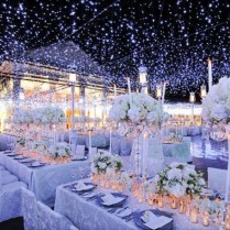 Stylish Winter Wedding Reception Decoration Ideas Reception