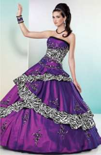 The Dream Wedding Inspirations Stylish Purple Wedding Dress
