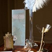 Vintage Ostrich Feather Wedding (14)