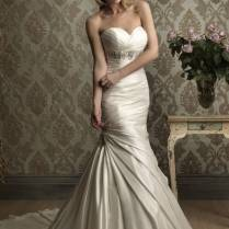 Wedding Dress Fitted Ideas About Bling Wedding Dresses On