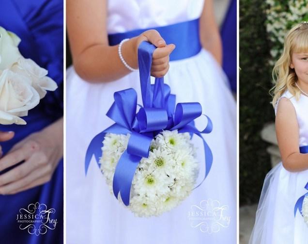 White And Royal Blue Wedding Dress Finest White Flower Girl