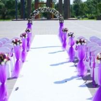 Wonderful Photos Of Purple Outside Wedding Decorations