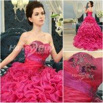 13935749915 Organza Ball Gown