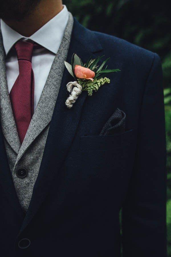 d1f5f4c0baa4 Fall Wedding Tuxedo Colors