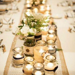 17 Best Ideas About Mason Jar Weddings On Emasscraft Org
