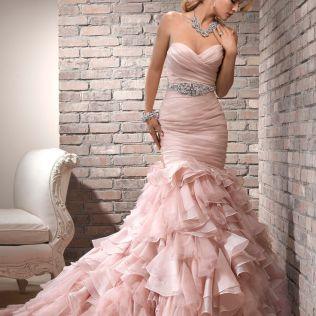 17 Best Ideas About Pink Wedding Dresses On Emasscraft Org