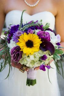 17 Best Ideas About Purple Sunflower Wedding On Emasscraft Org