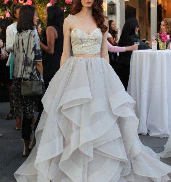 17 Best Ideas About Two Piece Wedding Dress On Emasscraft Org