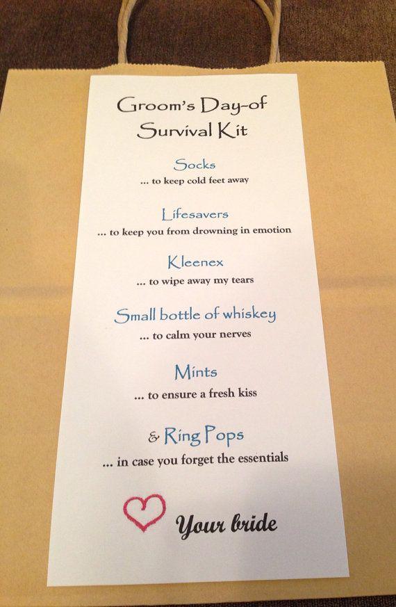 Wedding Survival Kit Gift