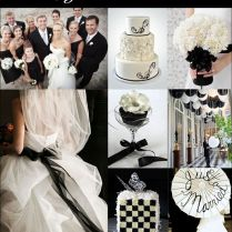 17 Best Images About Black And White Wedding Ideas & Inspiration