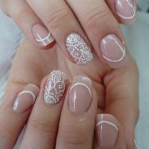 17 Best Images About Bridal Wedding Nail Art On Emasscraft Org