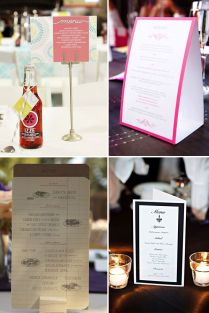 17 Best Images About Wedding Menu Display Cards On Emasscraft Org