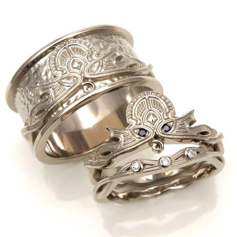 Viking Wedding Rings