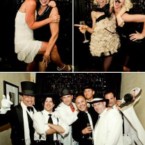 1920s Themed Wedding Rehearsal Dinner Costume Party