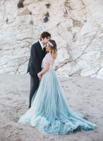25 Best Ideas About Blue Wedding Dresses On Emasscraft Org