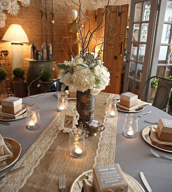 25 Best Ideas About Burlap Table Decorations On Emasscraft Org